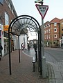 Bus shelter at the eastern end of the High Street - geograph.org.uk - 1604798.jpg