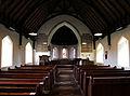 Bush End, Essex, England ~ St John Evangelist interior ~ nave to chancel 02.jpg