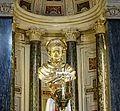 Buste reliquaire de Saint Yves~bois doré 1637~Eglise Saint-Yves-des-Bretons à Rome.jpg