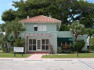 National Register of Historic Places listings in Broward County, Florida - Image: Butler house