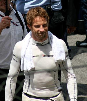 2009 FIA Formula One World Championship - Jenson Button, the 2009 World Champion, drove for Brawn GP