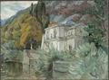 By Lago di Como. Study from Italy (Anna Boberg) - Nationalmuseum - 20539.tif