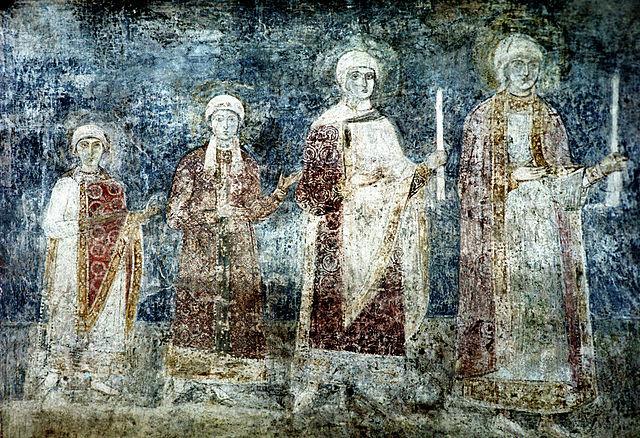 Анна, Анастасия, Елизавета и Агата