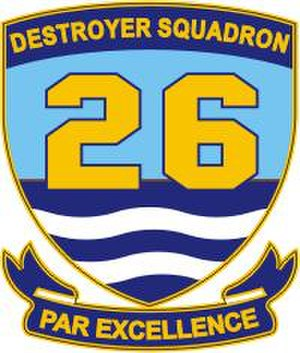 Destroyer Squadron 26 - Current Destroyer Squadron Twenty-Six insignia