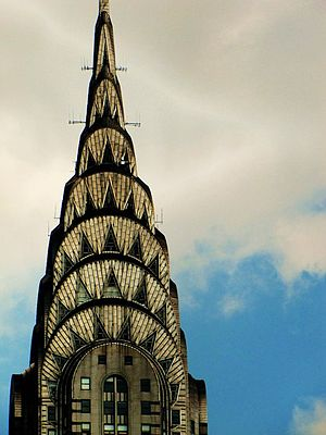 42nd Street (Manhattan) - The Chrysler Building, with its unique stainless-steel top, is one of the most distinctive buildings on 42nd Street