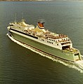 CND 24.705 - Cook Strait Ferries - Arahura - First Voyage - Decks packed with passengers (1983).jpg