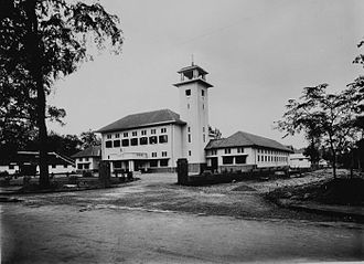 Magelang - The Magelang town hall in 1925-1936