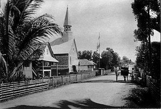 Tomohon - Tomohon highway in 1900-1920