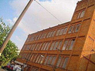 Mooca (district of São Paulo) - Cotonifício Crespi textile industry, sold to Extra Hipermercados supermarket chain.