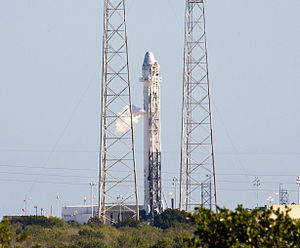 Wet dress rehearsal - Image: COTS 2 Falcon 9 WDR.1.cropped