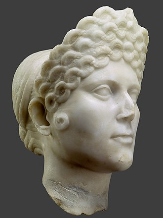 National Archaeology Museum (Portugal) - Female Bust (Julia), 1st - 2nd centuries AD, Roman Period
