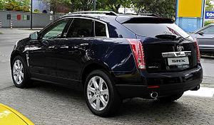 Cadillac SRX - Cadillac SRX 3.0 V6 AWD Sport Luxury (Germany)
