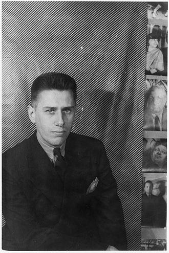 Paul Cadmus - Cadmus photo taken by Carl Van Vechten, 1937