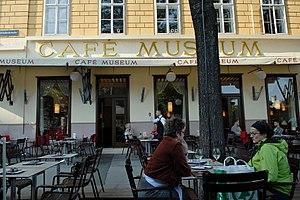 Café Museum - Café Museum, view from outside, Friedrichstraße, 2011