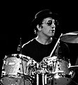 Calarco behind a drumset 2019.jpg
