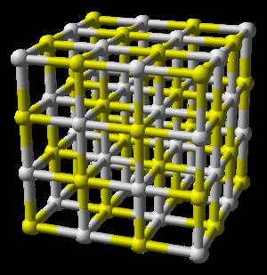 Calcium sulfide - Image: Calcium sulfide 3D balls