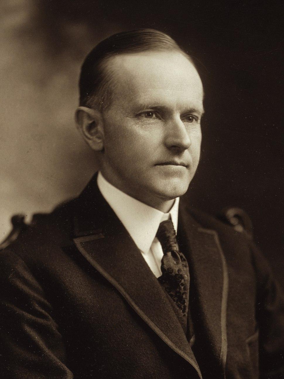 Calvin Coolidge cph.3g10777 (cropped)