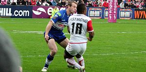 Cameron Phelps - Phelps playing for Wigan against St. Helens