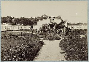 Jedediah Hyde Baxter - Campbell General Hospital during American Civil War.