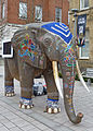 Campus elephant, Leeds University (Taken by Flickr user 6th February 2013).jpg
