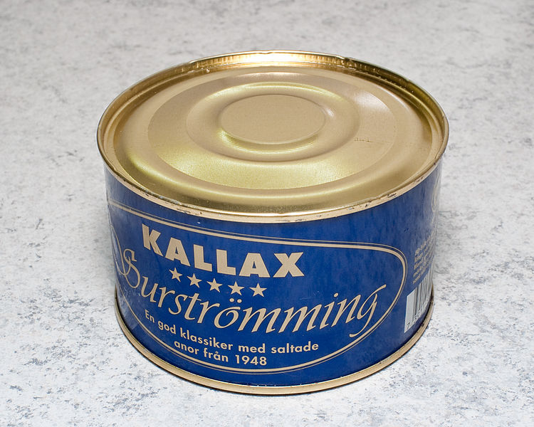 File:Can of Surströmming.jpg