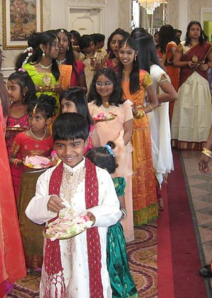 Tamil Canadians - Tamil children from Toronto