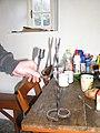Candle holder, Seán Mac Diarmada's House - geograph.org.uk - 1127595.jpg