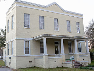 National Register of Historic Places listings in Candler County, Georgia - Image: Candler County Jail, Metter, GA, US