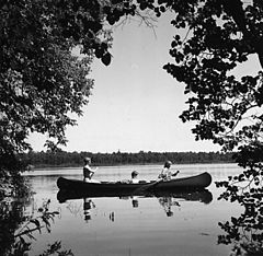 Canoe Tripping by Girl Scouts of Camp Cassaway, 071962.jpg