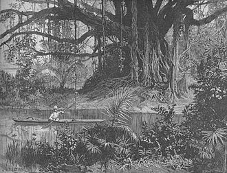 Edmund Grimani Hornby - Painting of 1890's Takaw (now Kaohsiung, Taiwan) by Hornby's nephew who lived there for several months at that time.