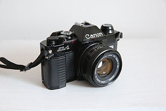 Canon AL-1 - This is a Canon AL-1 film single reflex (SLR) camera.