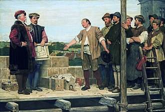 Henry Stacy Marks - Capital and Labour (1874)