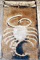 Cappella dello zodiaco, agostino di duccio, segni e pianeti 14 scorpione 2.jpg