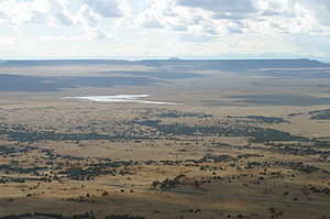 Capulin Volcano National Monument - Image: Capulin Volcano View from top 2002