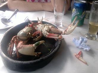 Brazilian cuisine - Cooked Crab