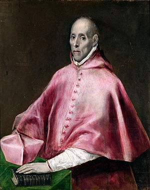 Grand Inquisitor - Juan Pardo de Tavera, Grand Inquisitor of Spain, 1539-45.