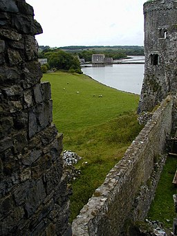 Carew mill viewed from the castle - geograph.org.uk - 436096