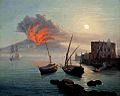 Carl Wilhelm Götzloff - Eruzione del Vesuvio vista dall'Immacolatella.jpg