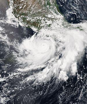 2015 Pacific hurricane season - Image: Carlos 2015 06 13 1755Z