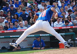 Carlos Mármol - Carlos Mármol pitching for the Chicago Cubs in 2009.