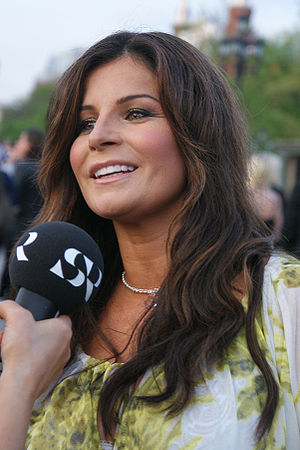 English: Carola in Moscow, 2009 Nederlands: Ca...