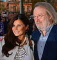 Carola Häggkvist and Benny Andersson in May 2013.jpg