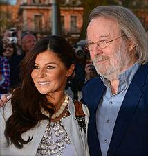 Carola Häggkvist and Benny Andersson in May 2013.jpg