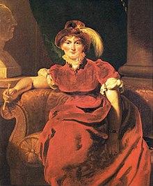 Caroline von Braunschweig, Gemälde von Thomas Lawrence (Quelle: Wikimedia)