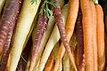 Carrots at the Oerlikon market (4828844234).jpg