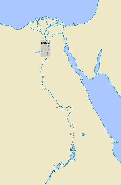 Pyramiden Karte