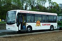 Carters Coach Services bus (BU08 ACV), Felixstowe, 2 May 2010.jpg