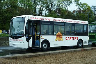 Plaxton Primo - Carters Plaxton Primo in Felixstowe in 2010