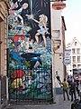 Cartoon auf einer Hausfassade in Brüssel (Belgien) 4.jpg
