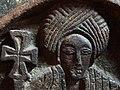 Carved Figure of Saint - Bet Golgotha Rock-Hewn Church - Lalibela - Ethiopia - 02 (8732125874).jpg
